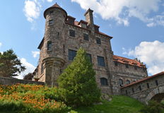 Singer Castle located on Dark Island in the St. Lawrence Seaway, New York State. Stock Photo