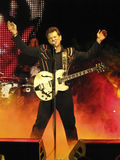 Singer Chris Isaak in Concert Stock Images