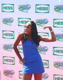 Singer Coco Jones attends Arthur Ashe Kids Day 2013 at Billie Jean King National Tennis Center Royalty Free Stock Photography