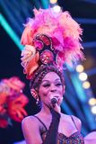 Tropicana, Havana, Night Club Show, Singer Stock Photography