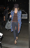 Singer Fergie aka Stacy Ferguson at LAX Stock Images