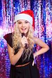 Singer girl Stock Photos