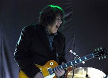 Singer and guitarist Gary Moore Royalty Free Stock Photo