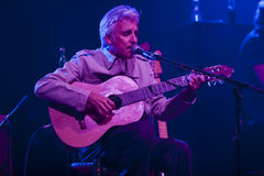 Singer and Guitarist Kiko Veneno from Spain performing onstage d Royalty Free Stock Photography