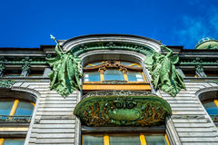 Singer House Architectural Details Stock Image