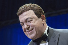 Singer Iosif Kobzon. During performance Royalty Free Stock Images