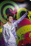 Singer jay chou wax figure Stock Photos