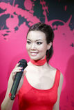 Singer joey yung wax figure Stock Photos