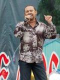 Singer of Kalina groupe royalty free stock photos