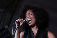 Singer - Linda Kyei Royalty Free Stock Photos