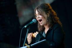 Singer Lucia Pulido (Columbia) performs at Usadba Jazz Festival Stock Image