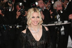 Singer Madonna. CANNES, FRANCE - MAY 21: Singer Madonna attends the 'I Am Because We Are' premiere at the Palais des Festivals during the 61st International Stock Images