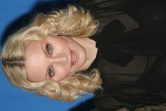 Singer Madonna. BERLIN - FEBRUARY 13: Madonna attends the 'Filth and Wisdom' photocall as part of the 58th Berlinale Film Festival at the Grand Hyatt Hotel on Royalty Free Stock Image