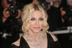 Singer Madonna. CANNES, FRANCE - MAY 21: Singer Madonna attends the 'I Am Because We Are' premiere at the Palais des Festivals during the 61st International Royalty Free Stock Images