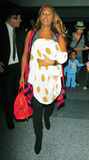 Singer Mel B at LAX airport Stock Photo