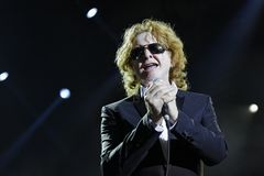 Singer  - Mick Hucknall Stock Photos