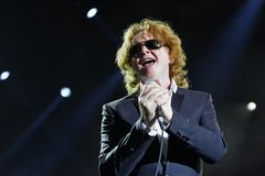 Singer  - Mick Hucknall Stock Photo