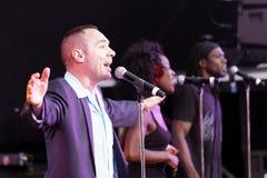 Singer and musician Matt Bianco Royalty Free Stock Photo