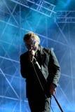 Singer of The National (rock band) in concert at Heineken Primavera Sound 2014 Festival Royalty Free Stock Image