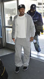 Singer NIck Cannon at LAX airport Royalty Free Stock Photo