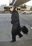 Singer Ozzy Osbourne is seen at LAX Royalty Free Stock Photos