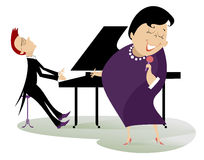 Singer and pianist Royalty Free Stock Photo