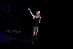 Singer Pink performs onstage Royalty Free Stock Images
