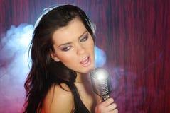 Singer portrait Stock Photo