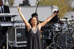 Singer Sheila E. Stock Images