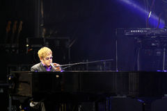 Singer Sir Elton John performs onstage Royalty Free Stock Image