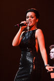 Singer Slava performs on stage during the Viktor Drobysh 50th year birthday concert at Barclay Center Stock Images