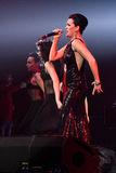 Singer Slava performs on stage during the Viktor Drobysh 50th year birthday concert at Barclay Center Stock Photography