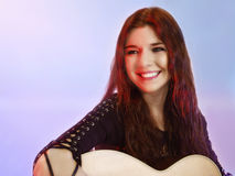 Singer Songwriter 2 Royalty Free Stock Photography