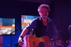 Singer-Songwriter Johannes Oerding Royalty Free Stock Images