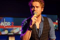 Singer-Songwriter Johannes Oerding Stock Photo
