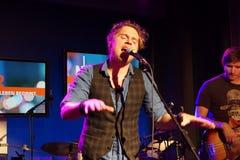 Singer-Songwriter Johannes Oerding Royalty Free Stock Photos