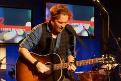 Singer-Songwriter Johannes Oerding Stock Images