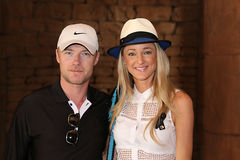 Singer-songwriter Ronan Keating and his new wife Storm Uechtritz Stock Photos