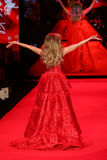 Singer Thalia walks the runway at the Go Red For Women Red Dress Collection 2015 Royalty Free Stock Photo