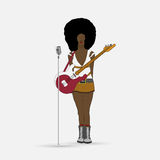 Singer Woman Royalty Free Stock Photography
