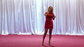 Singer stock footage