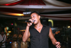 Singer Yohanes Jefri Stock Images