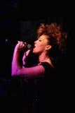 Singer Ysa Ferrer. Muz-TV Awards Royalty Free Stock Image