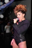 Singer Ysa Ferrer. Muz-TV Awards Royalty Free Stock Photography