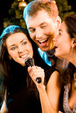 Singers Royalty Free Stock Photo