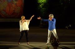 Singers Margarita Hranova Orlin Goranov Royalty Free Stock Image