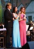 Singers In Cesky Krumlov Royalty Free Stock Photos