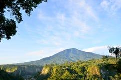 Singgalang-Berg Stockbilder