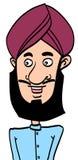 Singh man Arkivbild