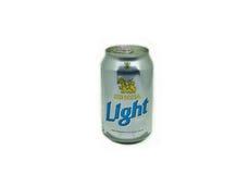 Singha低度黄啤酒 库存照片